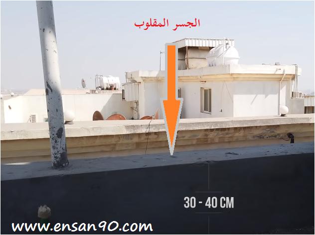 طريقة عزل الاسطح والسقوف بالفوم ( الجسر المقلوب )