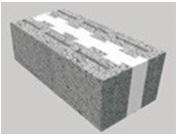 نظام الجدار الواحد المبني من الطوب الإسمنتي المعزول