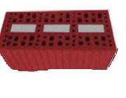 عزل الحرارة نظام الجدار الواحد ويكون مبني من الطوب الأحمر أو الطوب الأسمنتي
